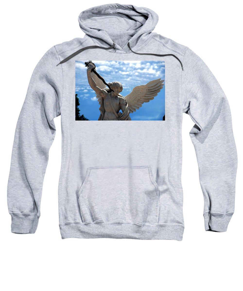 Warrior Sweatshirt featuring the photograph Warrior Angel by Susanne Van Hulst
