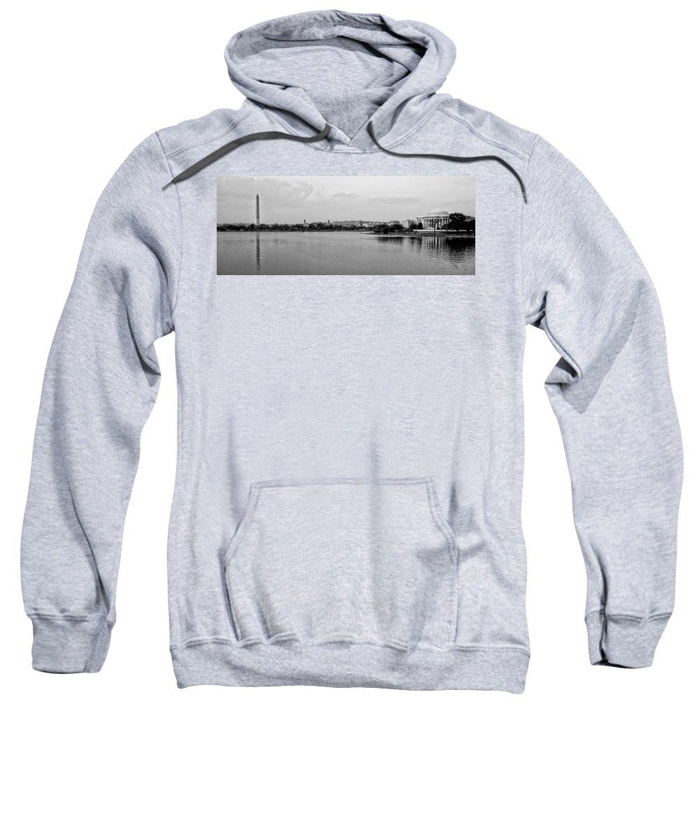 Washington Dc Sweatshirt featuring the photograph Washington Landmarks by Heather Applegate