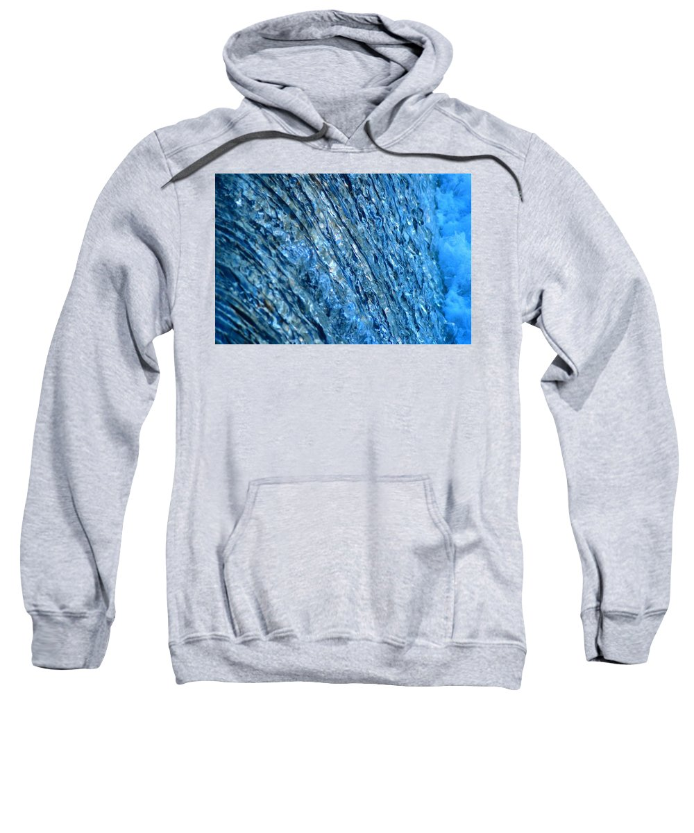 Sweatshirt featuring the photograph Water by Renee Seastrom
