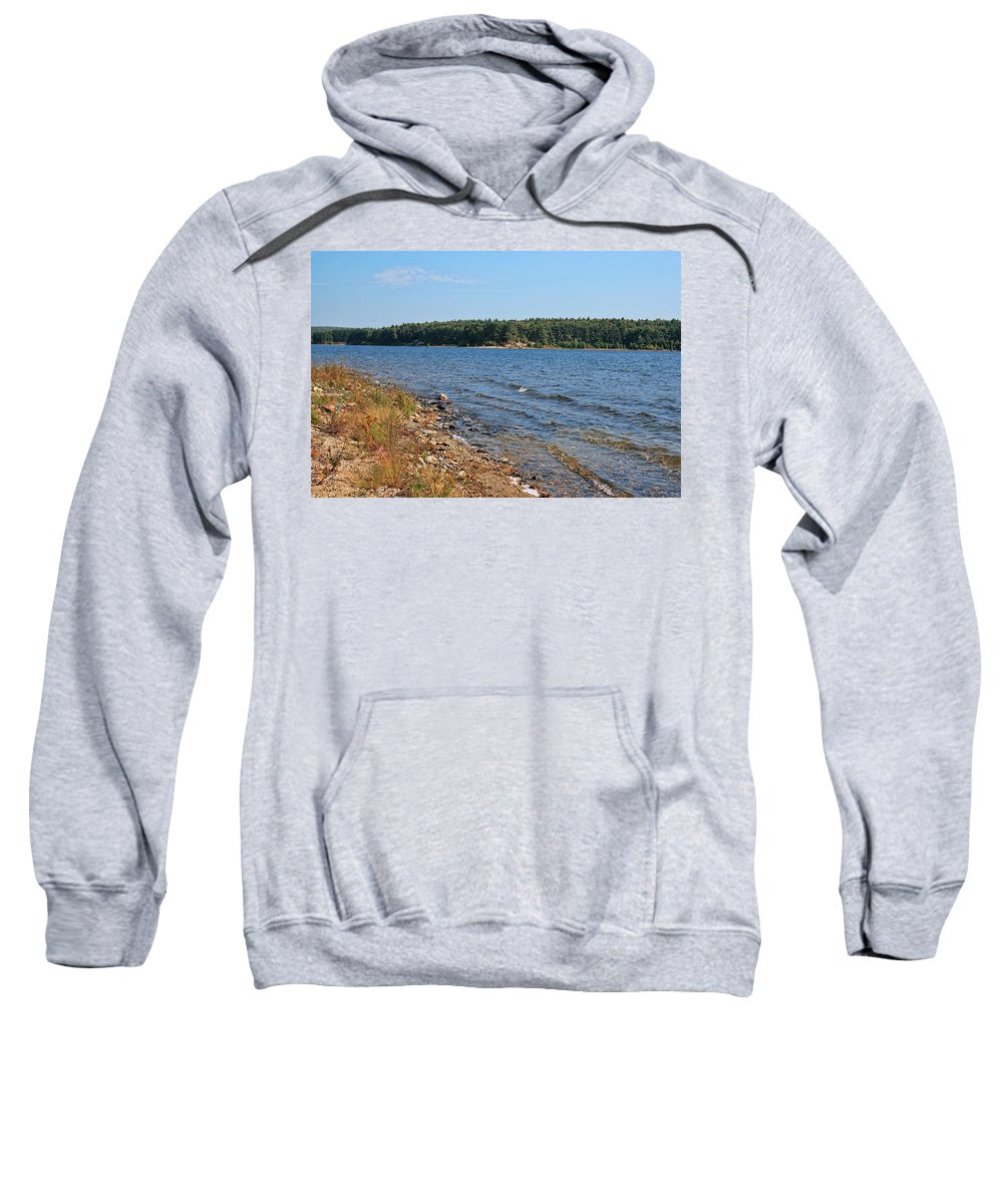 Lake Sweatshirt featuring the photograph Water Wisp by Mike Smale