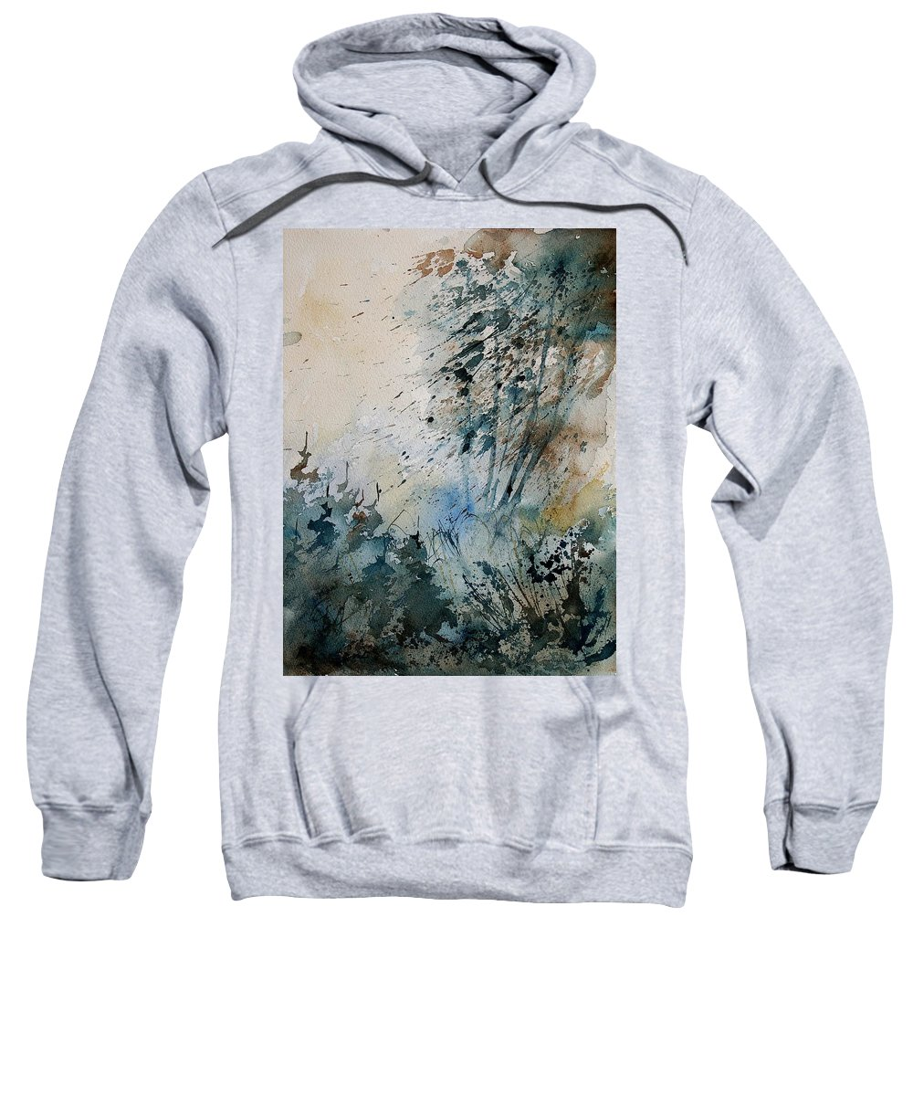 Tree Sweatshirt featuring the painting Watercolor 148708 by Pol Ledent