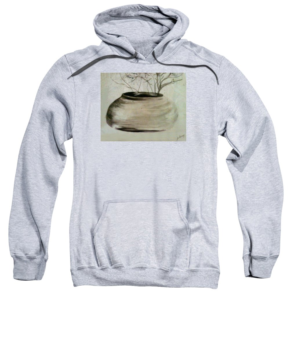 Painting Sweatshirt featuring the painting Watercolor Study by Jacquie King
