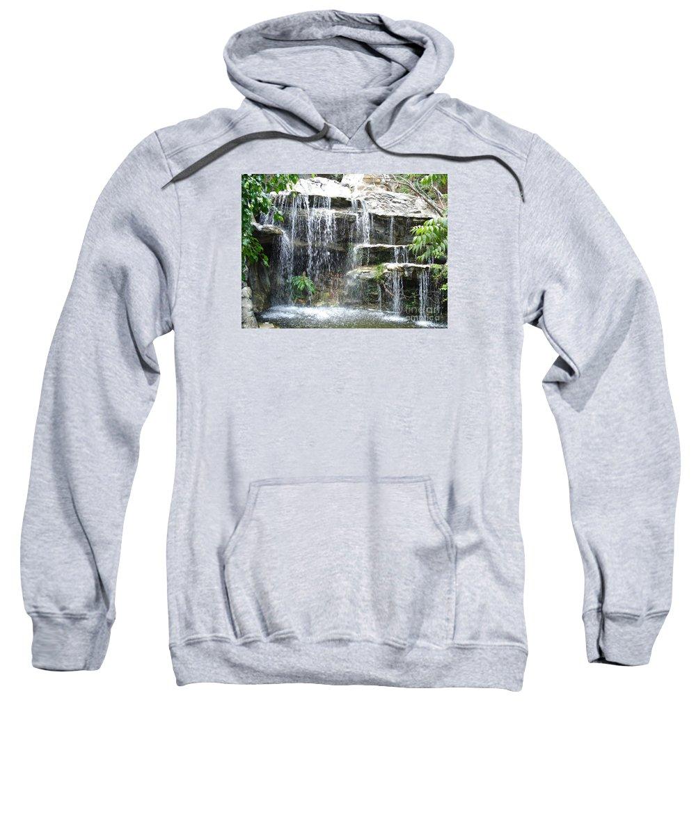 Waterfall Sweatshirt featuring the photograph Waterfall by Madilyn Fox