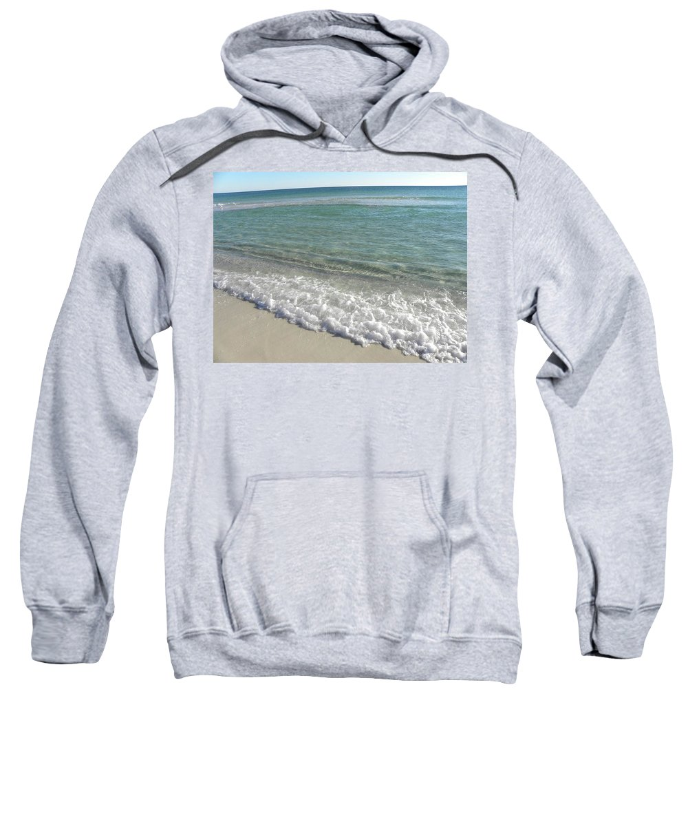 Beach Sweatshirt featuring the photograph Wave by Shannon Turek