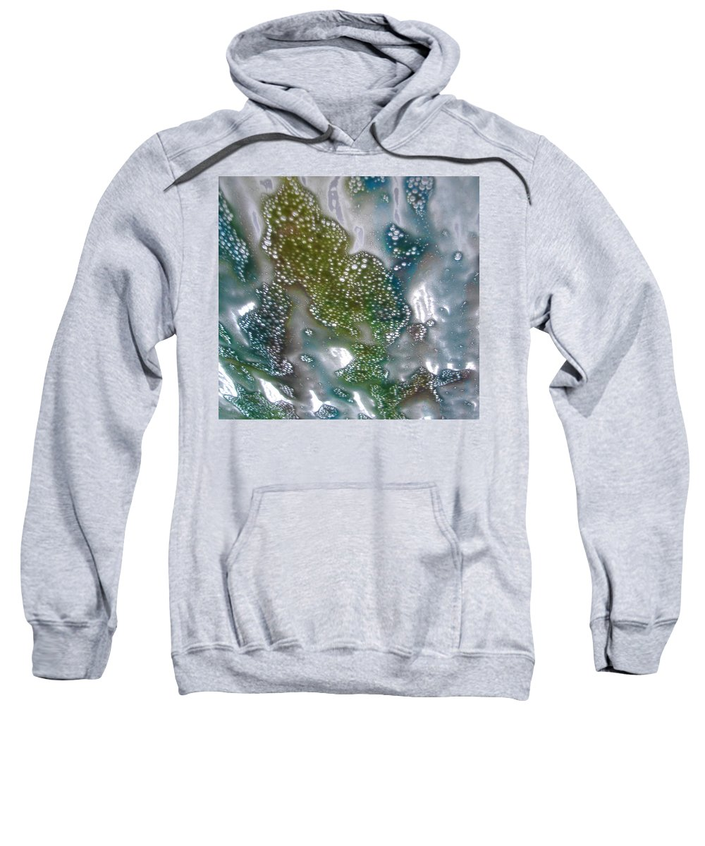 Sweatshirt featuring the photograph Wax On by Luciana Seymour
