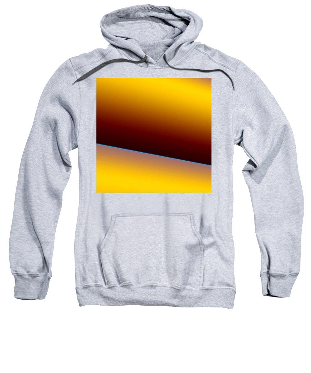 Digital Art Sweatshirt featuring the digital art way III by Dragica Micki Fortuna
