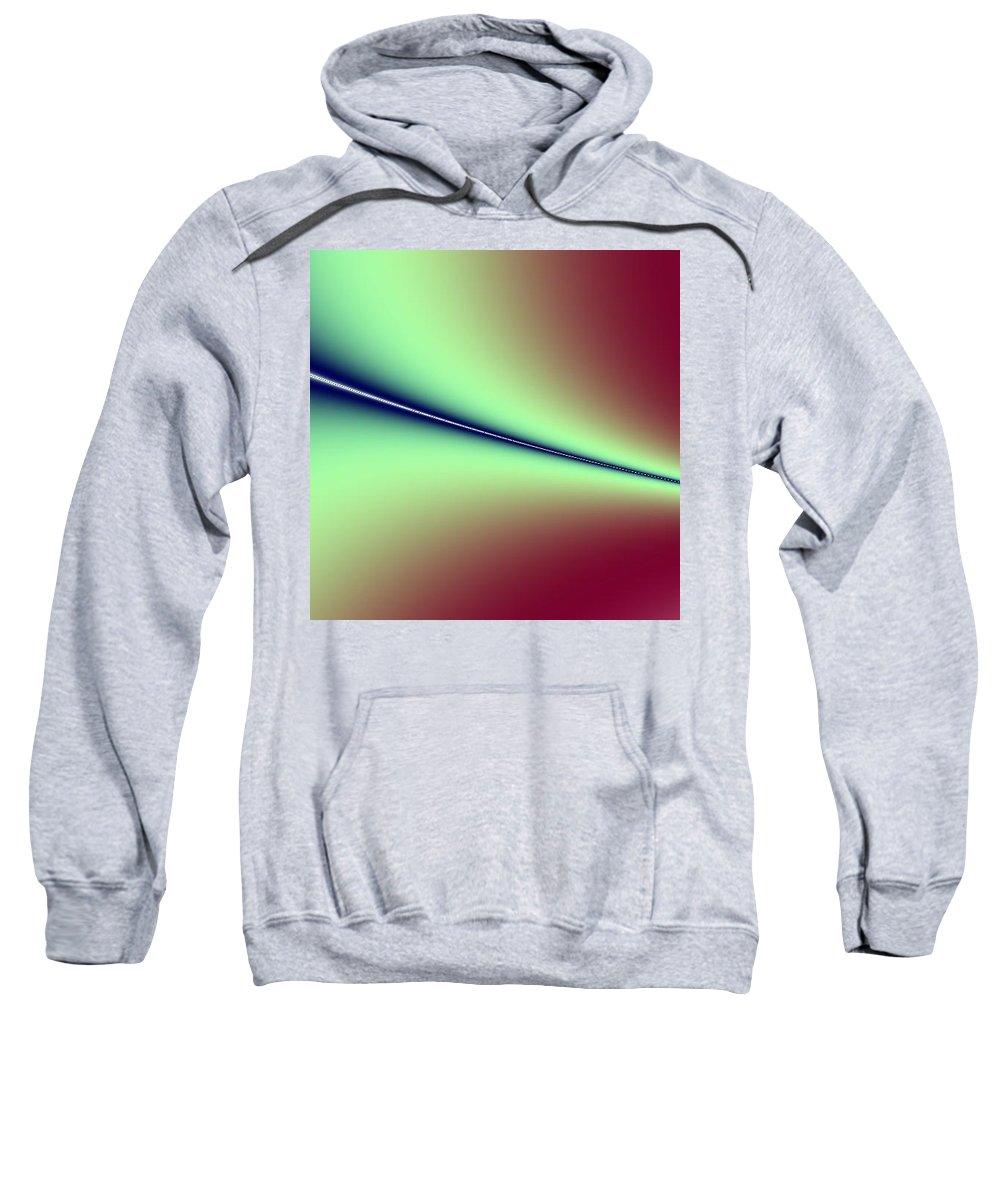 Digital Art Sweatshirt featuring the digital art Way Out I by Dragica Micki Fortuna