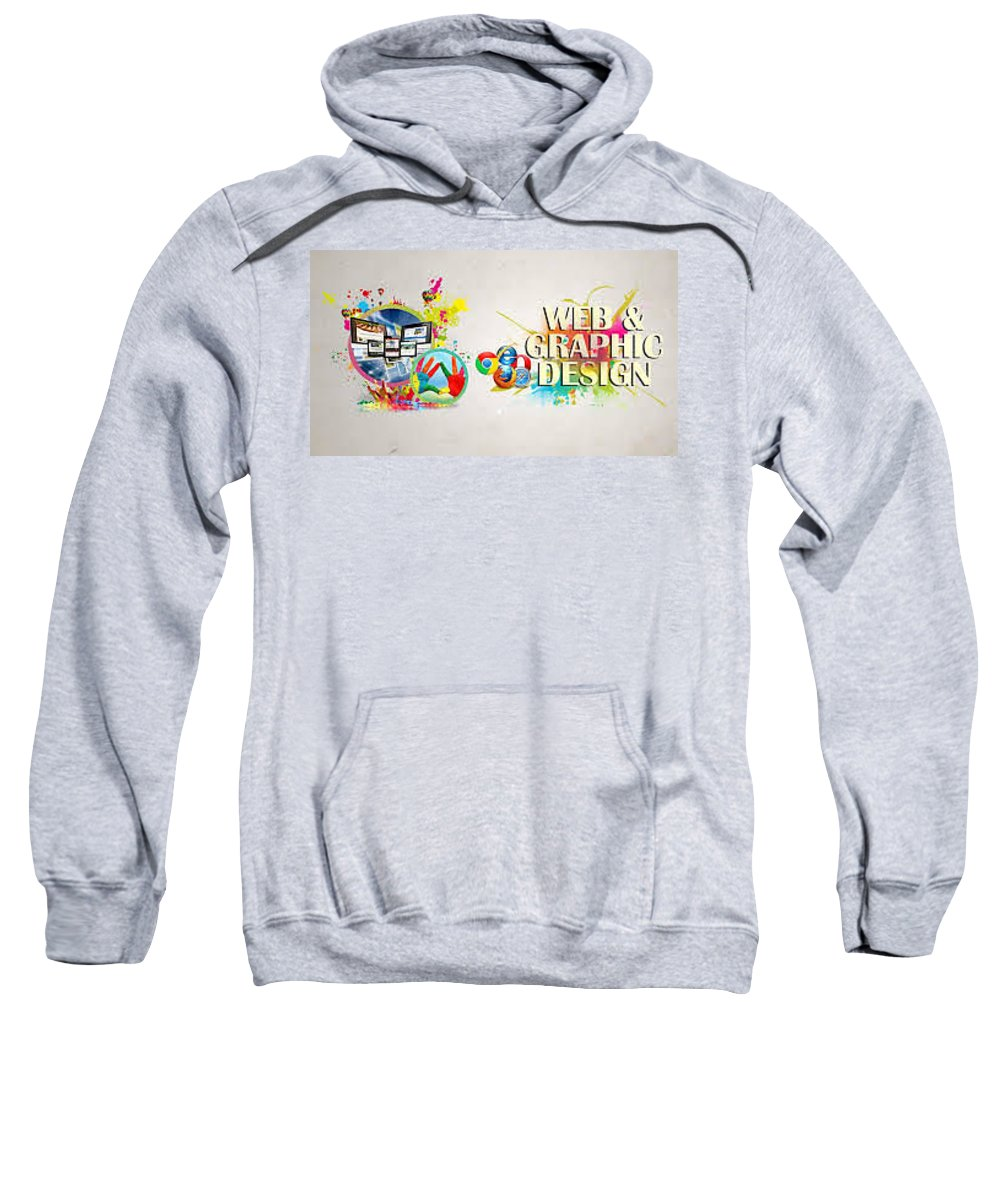 Best Sweatshirt featuring the photograph Web Design Company In Noida-wondermouse by LalitMathur