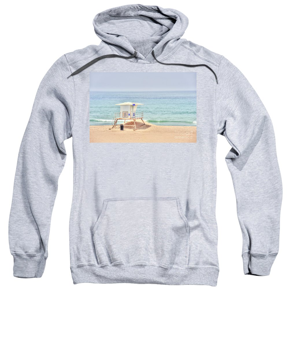 Manhattan Sweatshirt featuring the photograph Welcome To A Wonderful Day by David Zanzinger