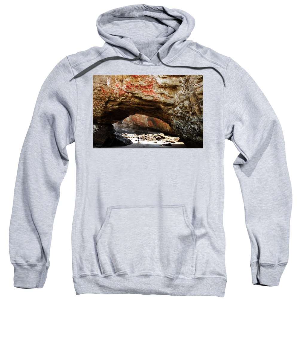 Grotto Sweatshirt featuring the photograph Welcome To The Grotto by Hany J