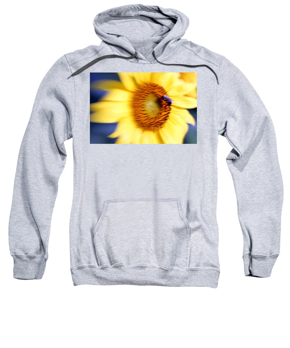 Sun Sweatshirt featuring the photograph West Flow by Carolyn Stagger Cokley