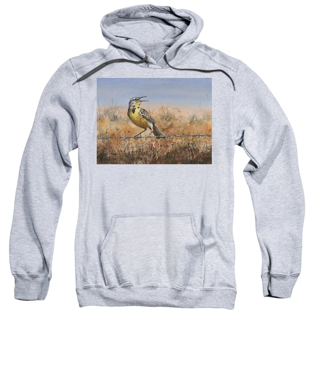 Meadowlark Paintings Hooded Sweatshirts T-Shirts