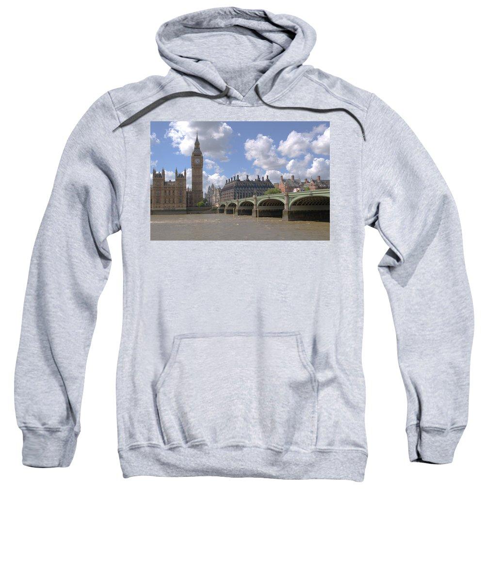 Big Ben Sweatshirt featuring the photograph Westminster Bridge by Chris Day