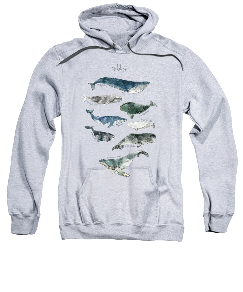 Whale Hooded Sweatshirts T-Shirts