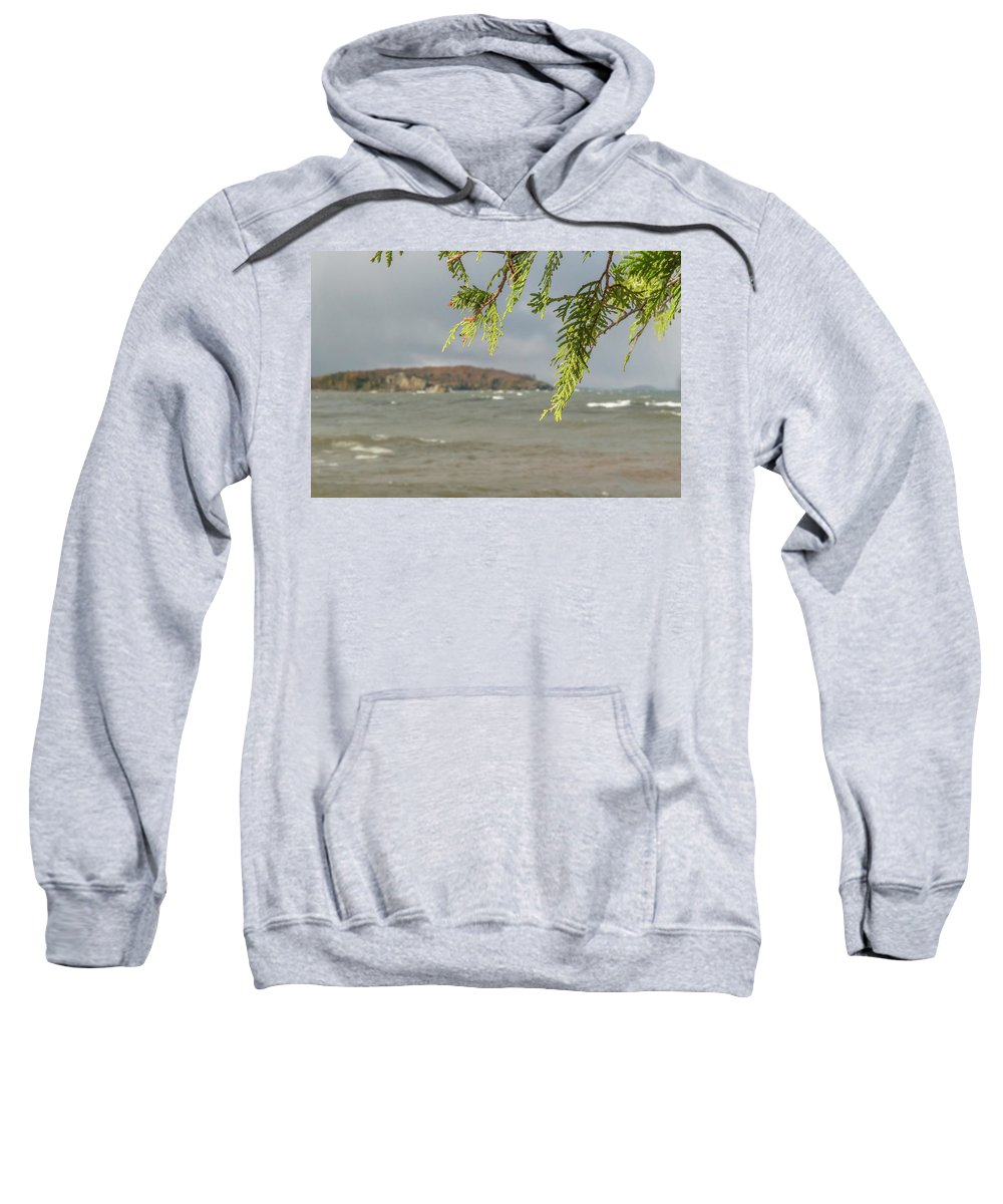 Water Sweatshirt featuring the digital art What To Focus by Bradley J Nelson