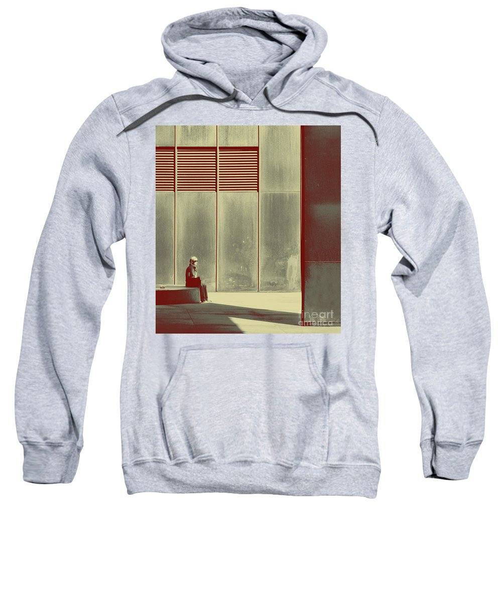 Alone Sweatshirt featuring the photograph When Shes Gone by Dana DiPasquale