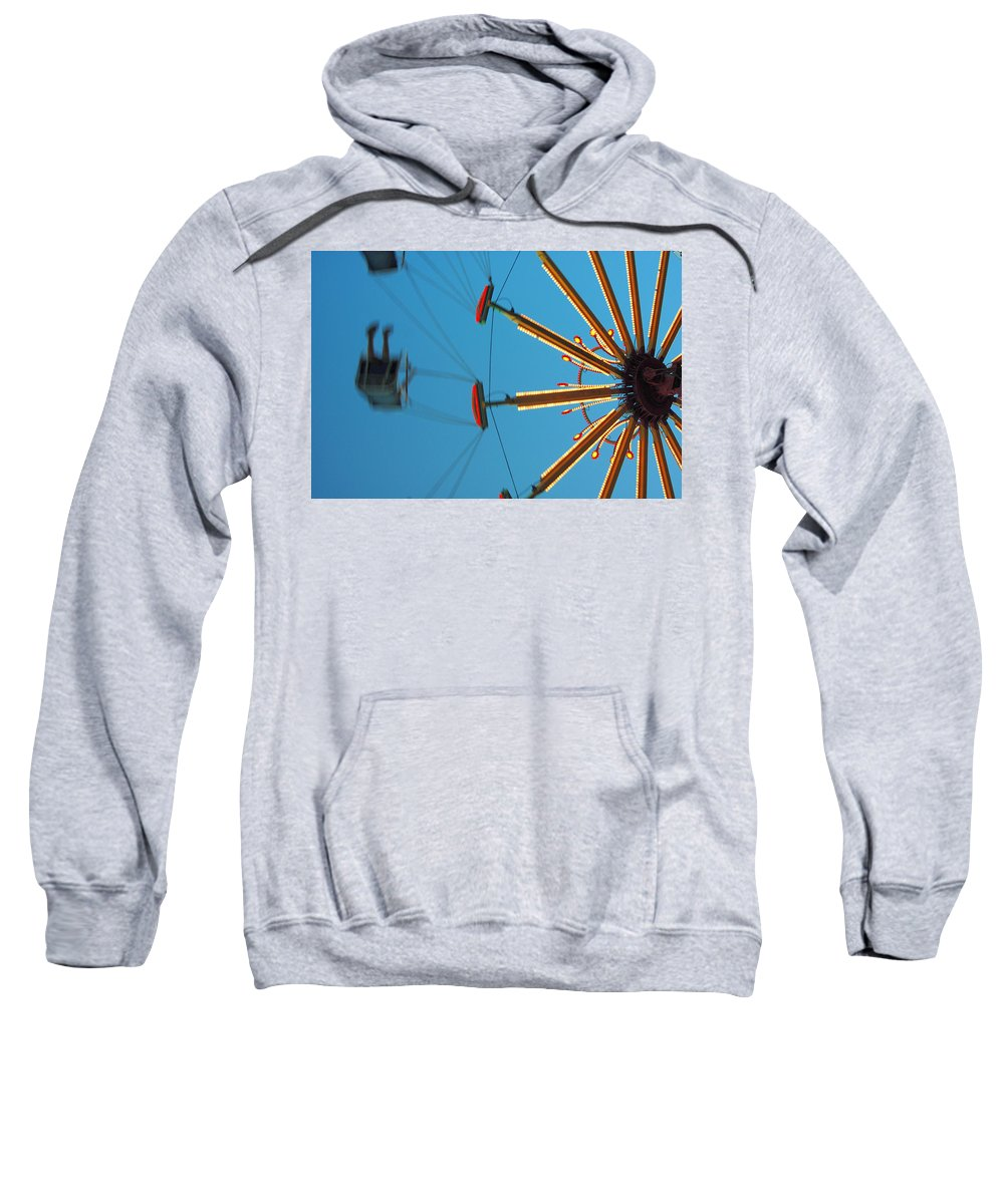 Color Sweatshirt featuring the photograph Whirling Twilight by Trish Hale
