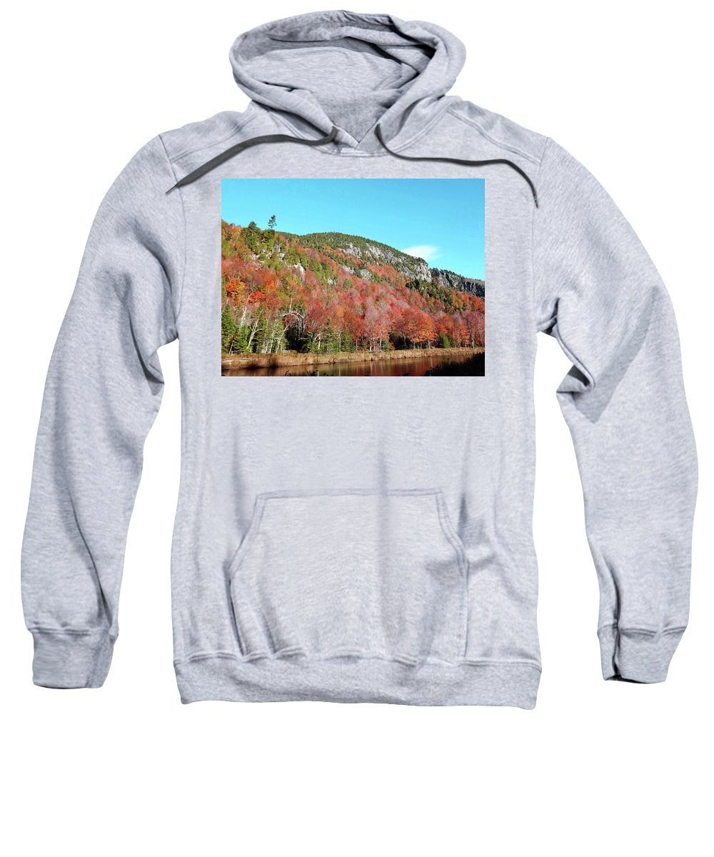 White Face Mt. . 10 / 17 Sweatshirt featuring the photograph White Face Mt. by Joseph F Safin