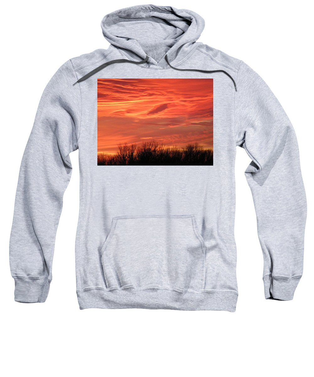 Sunset Sweatshirt featuring the photograph Who Needs Jupiter by Gale Cochran-Smith