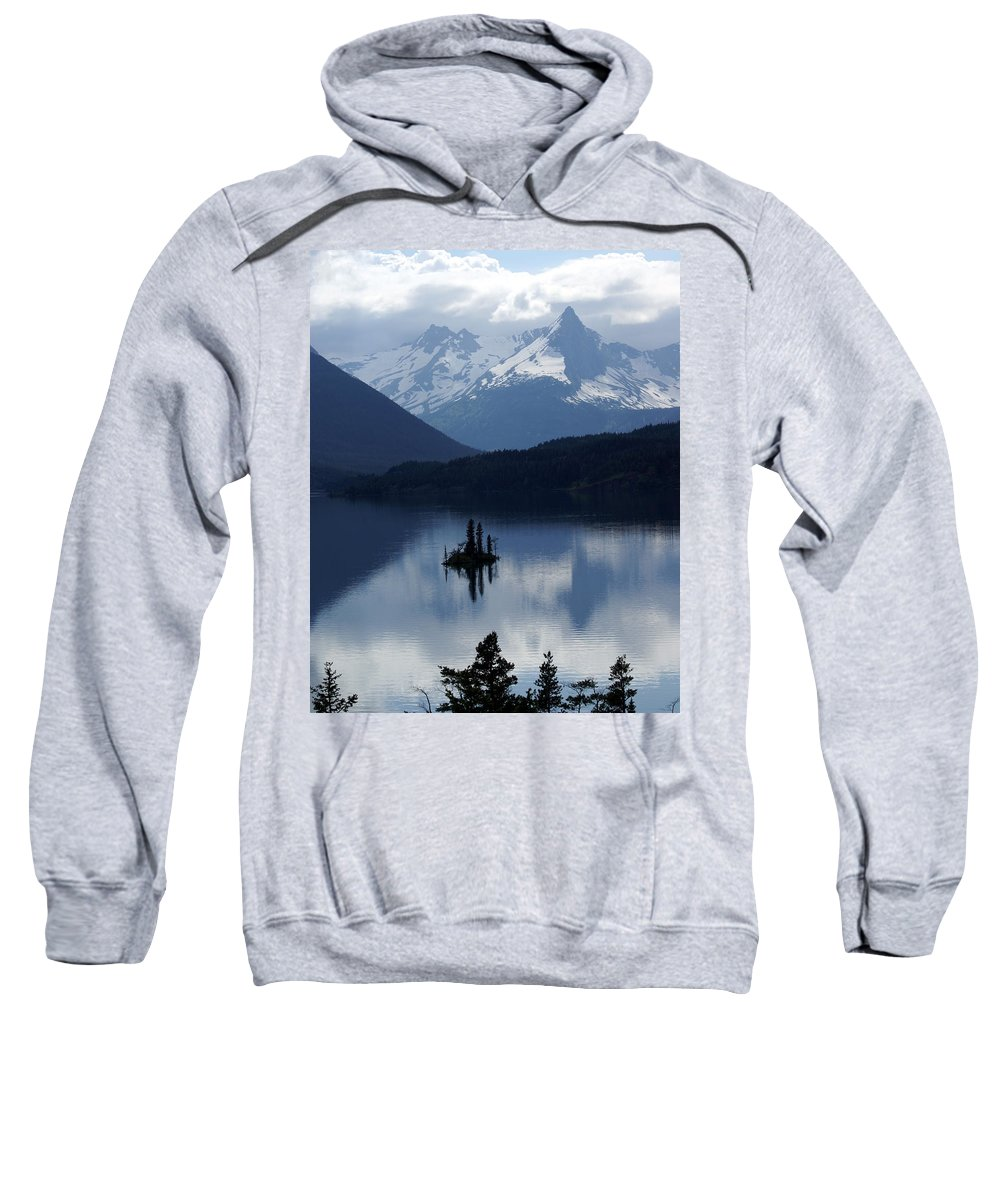 Wild Goose Island Sweatshirt featuring the photograph Wild Goose Island by Marty Koch