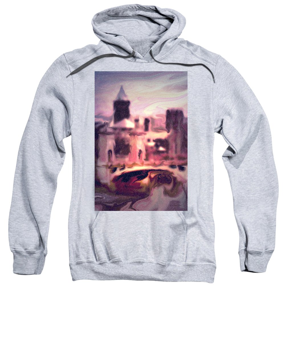 Bright Sweatshirt featuring the photograph Wilkes Barre Pennsylvania by Arthur Miller
