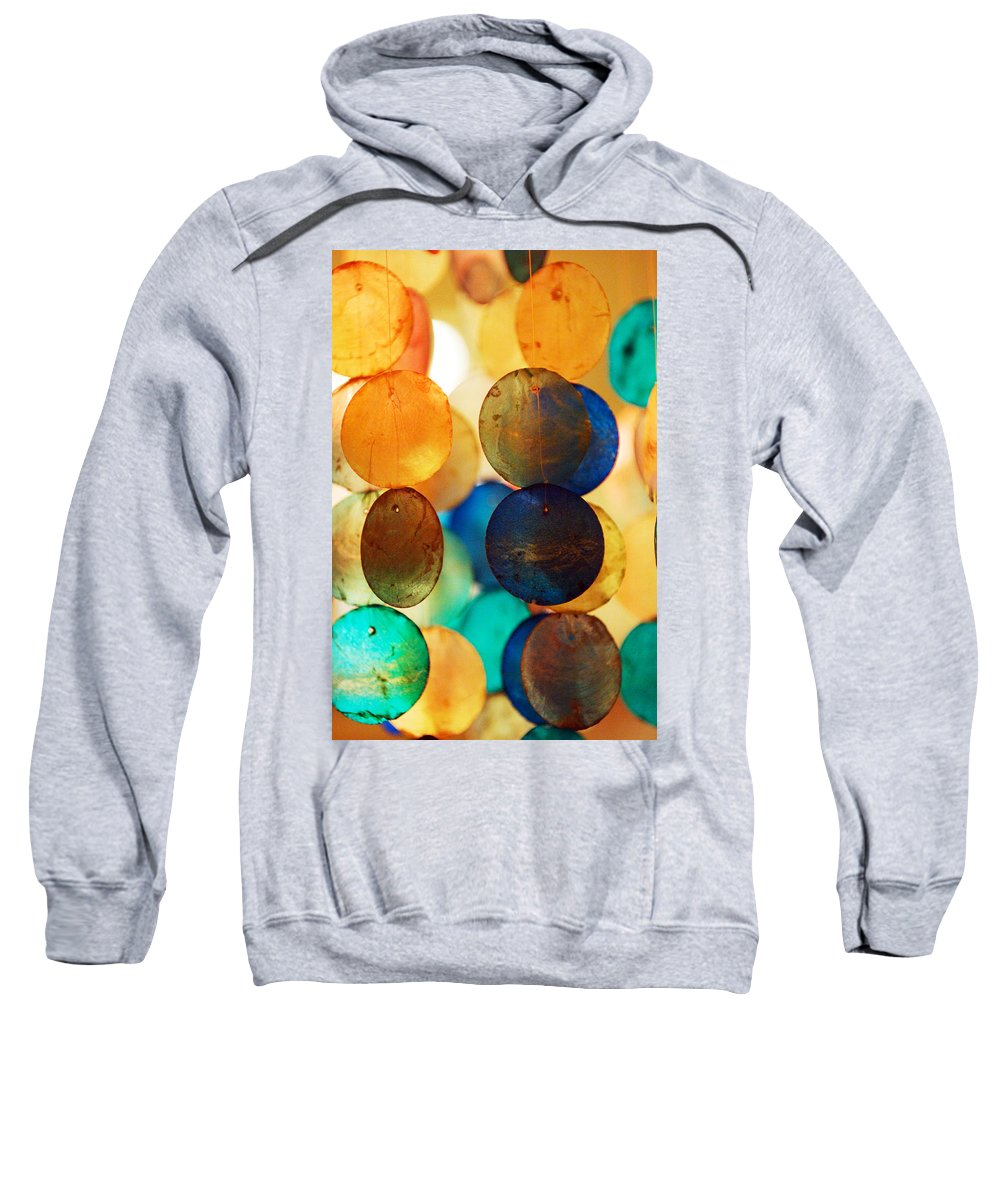 Wind Chimes Sweatshirt featuring the photograph Wind Chimes by Jill Reger