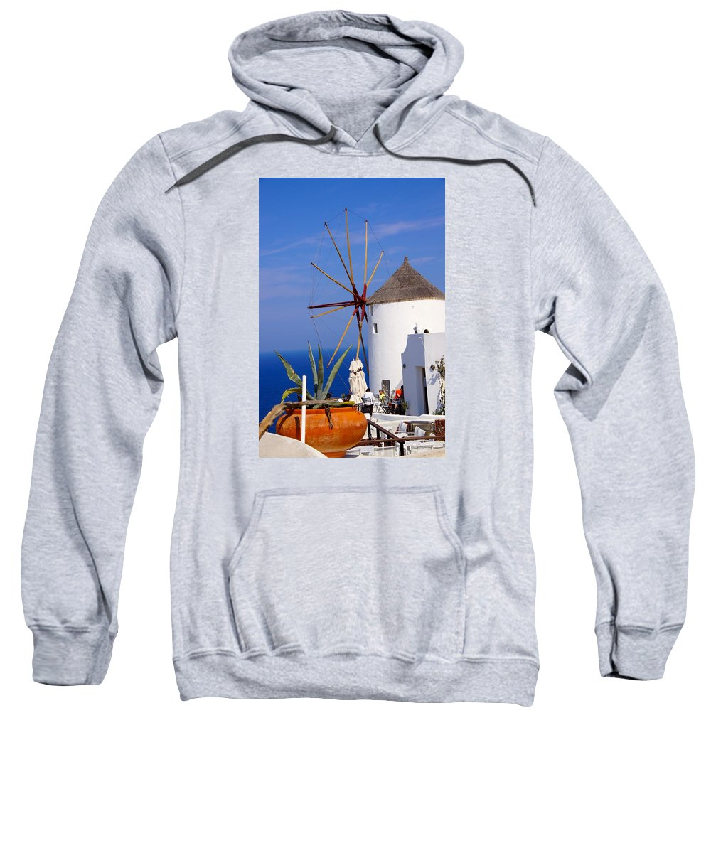 Windmill Sweatshirt featuring the photograph Windmill Art by Ron Koivisto