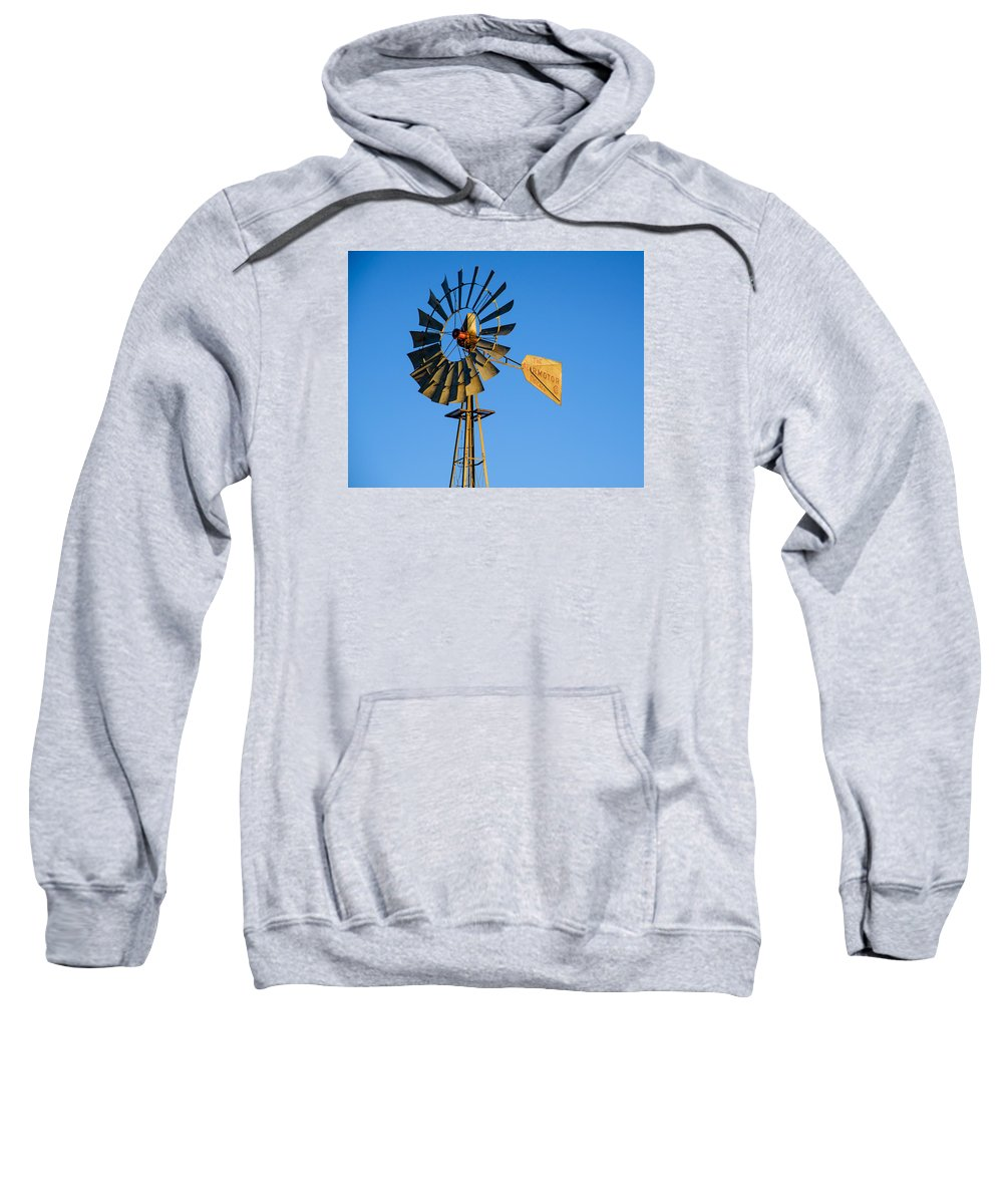 Windmill Sweatshirt featuring the photograph Windmill by Paul Moore