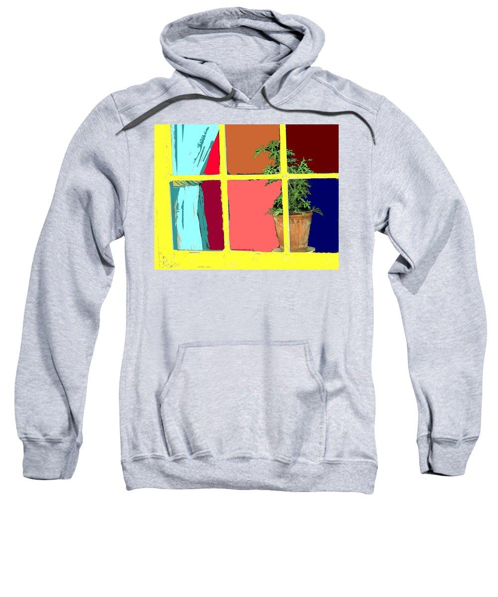 Window Sweatshirt featuring the photograph Window by Ian MacDonald