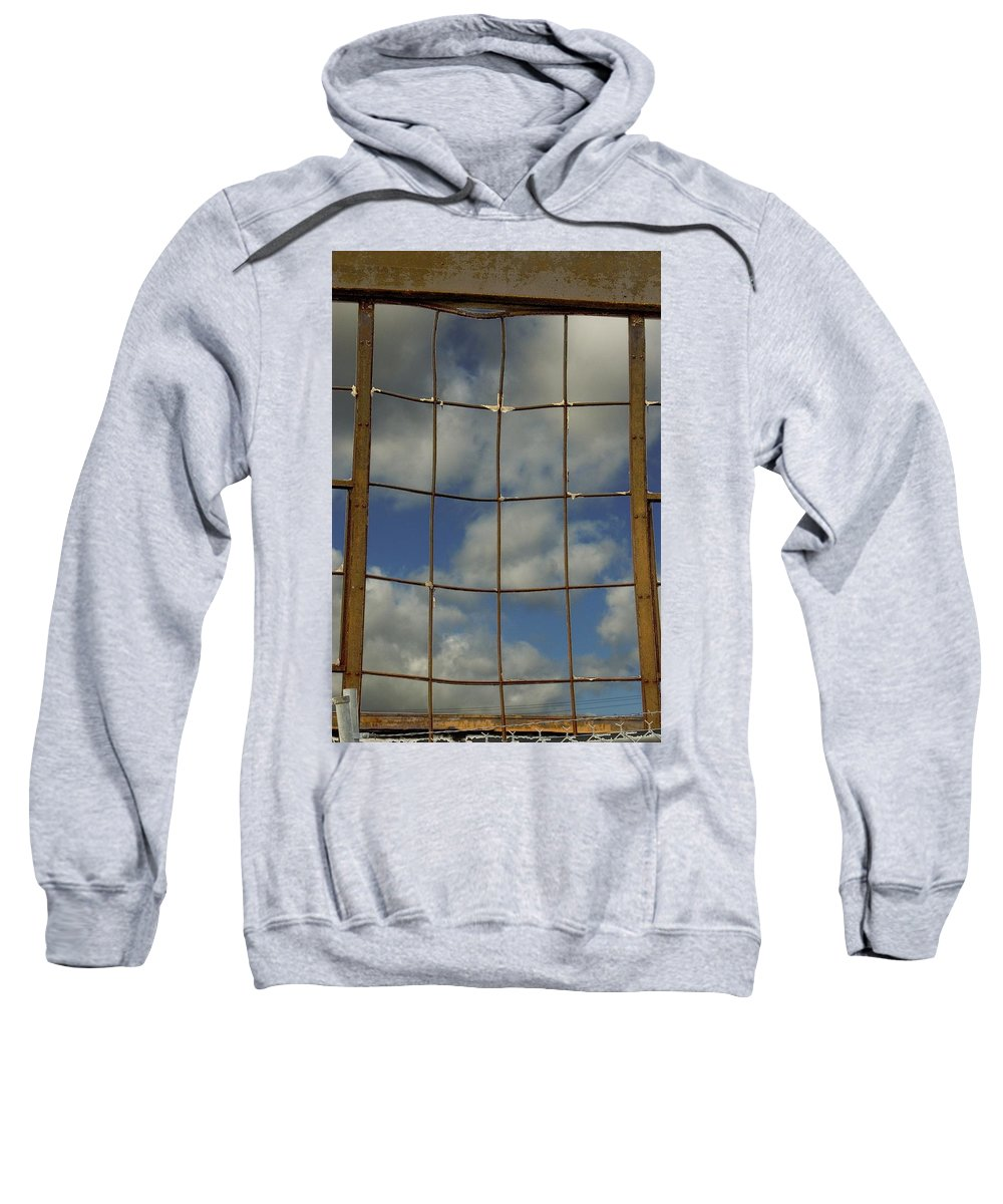 Window Sweatshirt featuring the photograph Window by Sara Stevenson