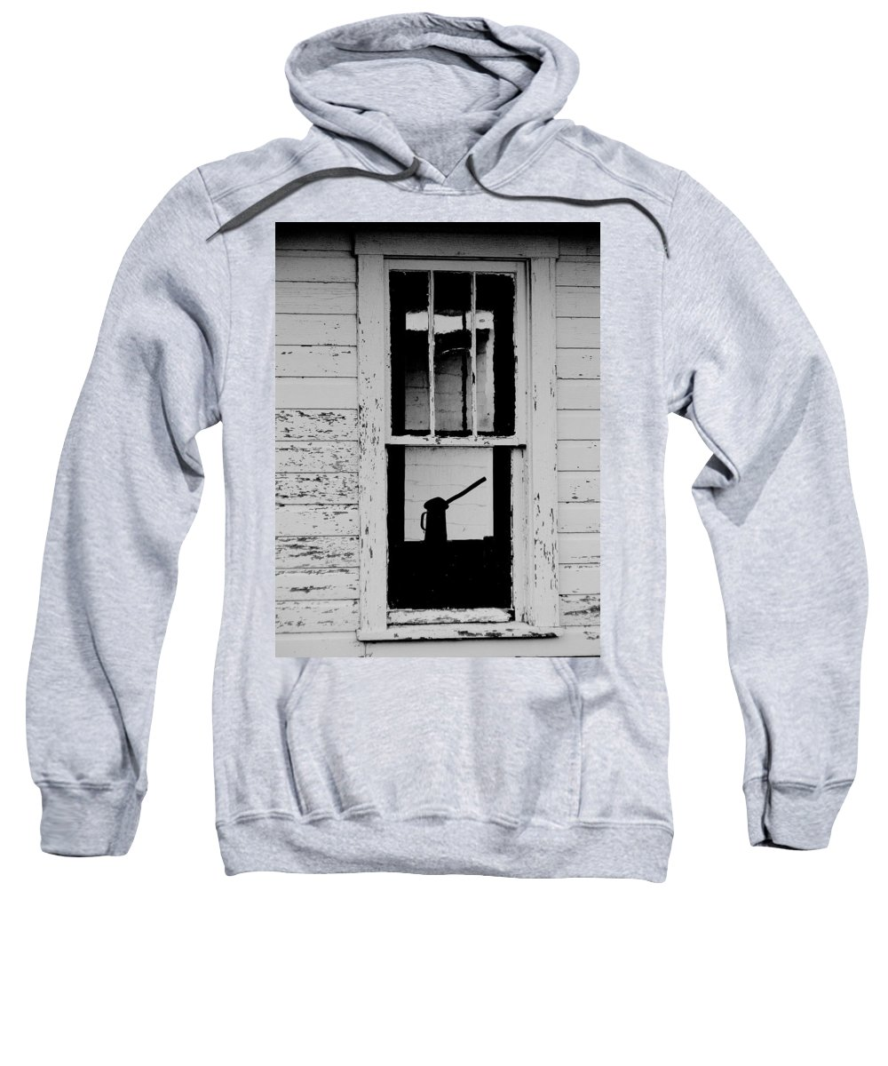 Still Life Sweatshirt featuring the photograph Window To The Past by Ed Smith