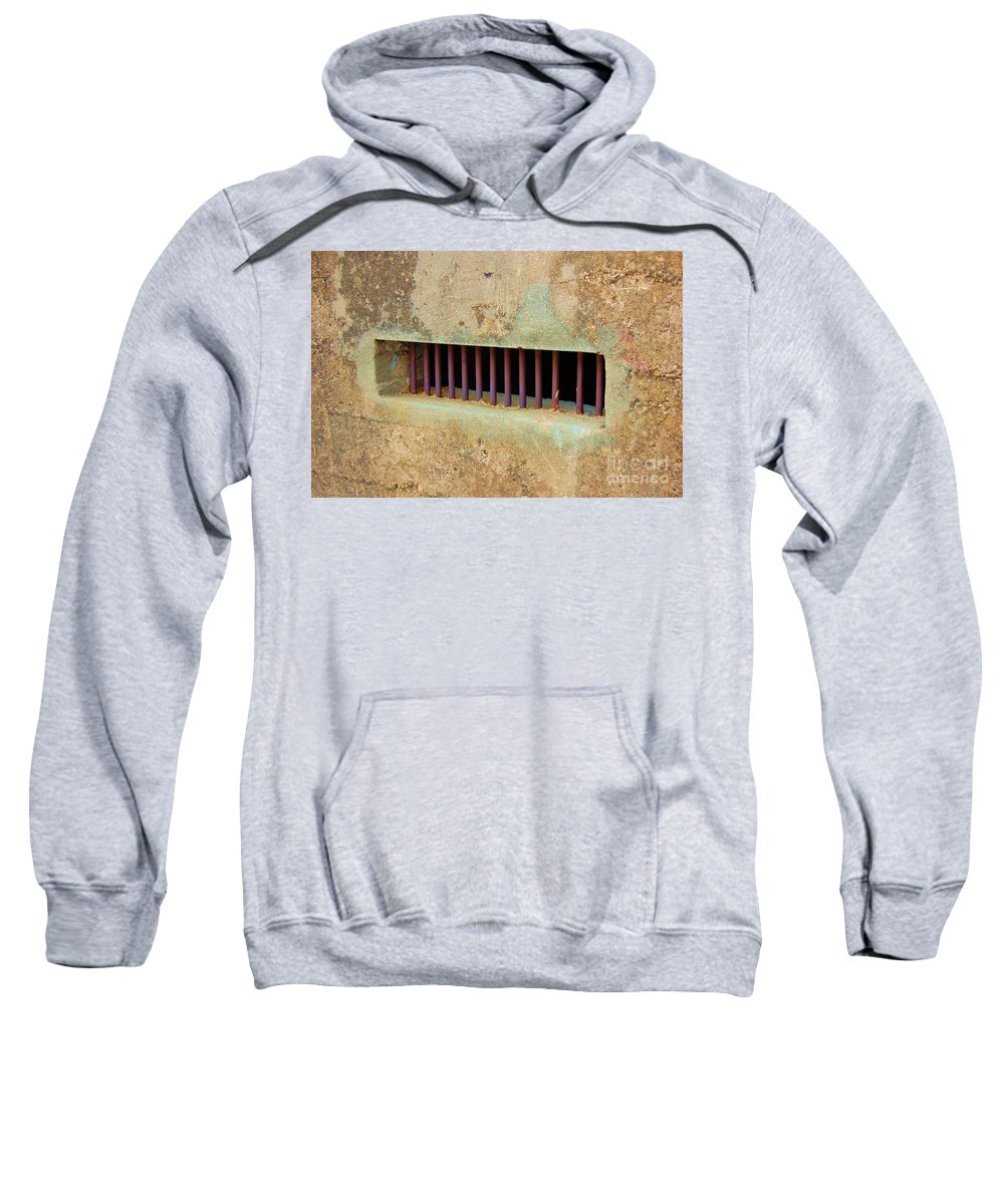 Jail Sweatshirt featuring the photograph Window To The World by Debbi Granruth