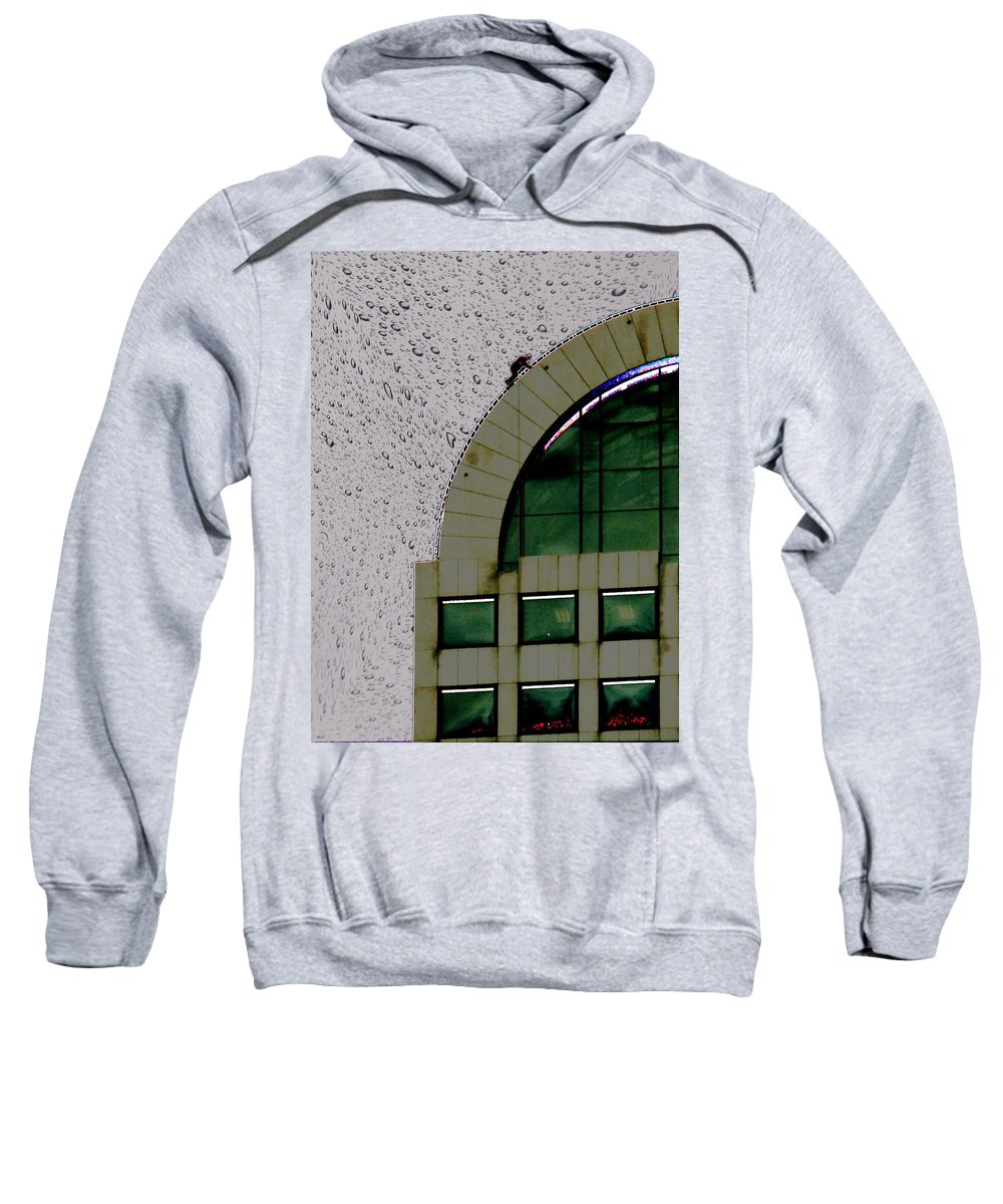 Seattle Sweatshirt featuring the photograph Window Washer by Tim Allen