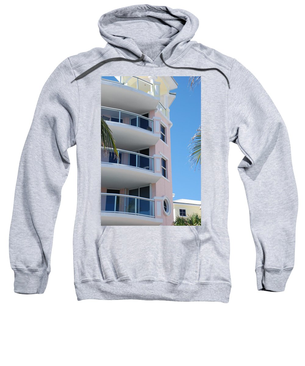 Architecture Sweatshirt featuring the photograph Windows 10 by Rob Hans