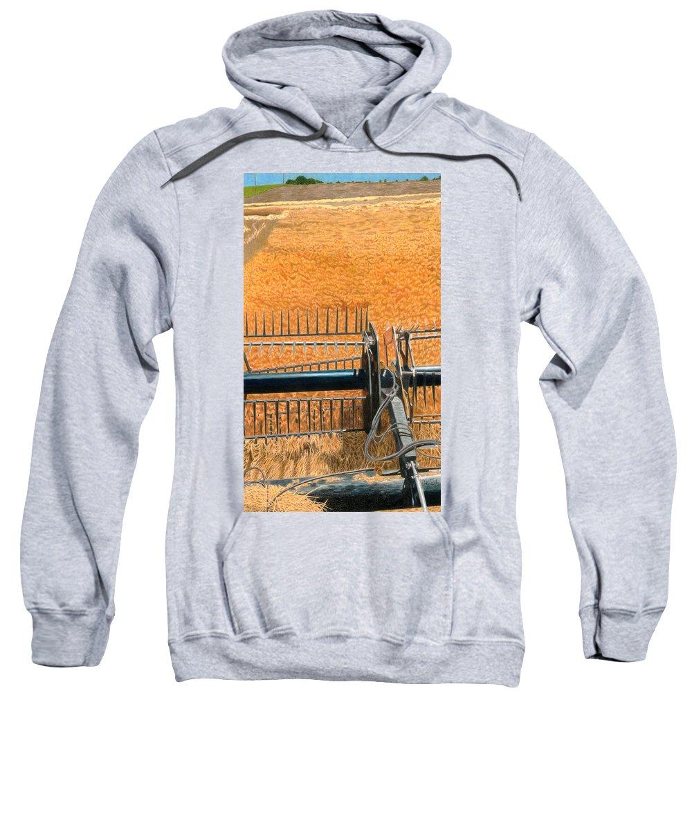Golden Grass Sweatshirts