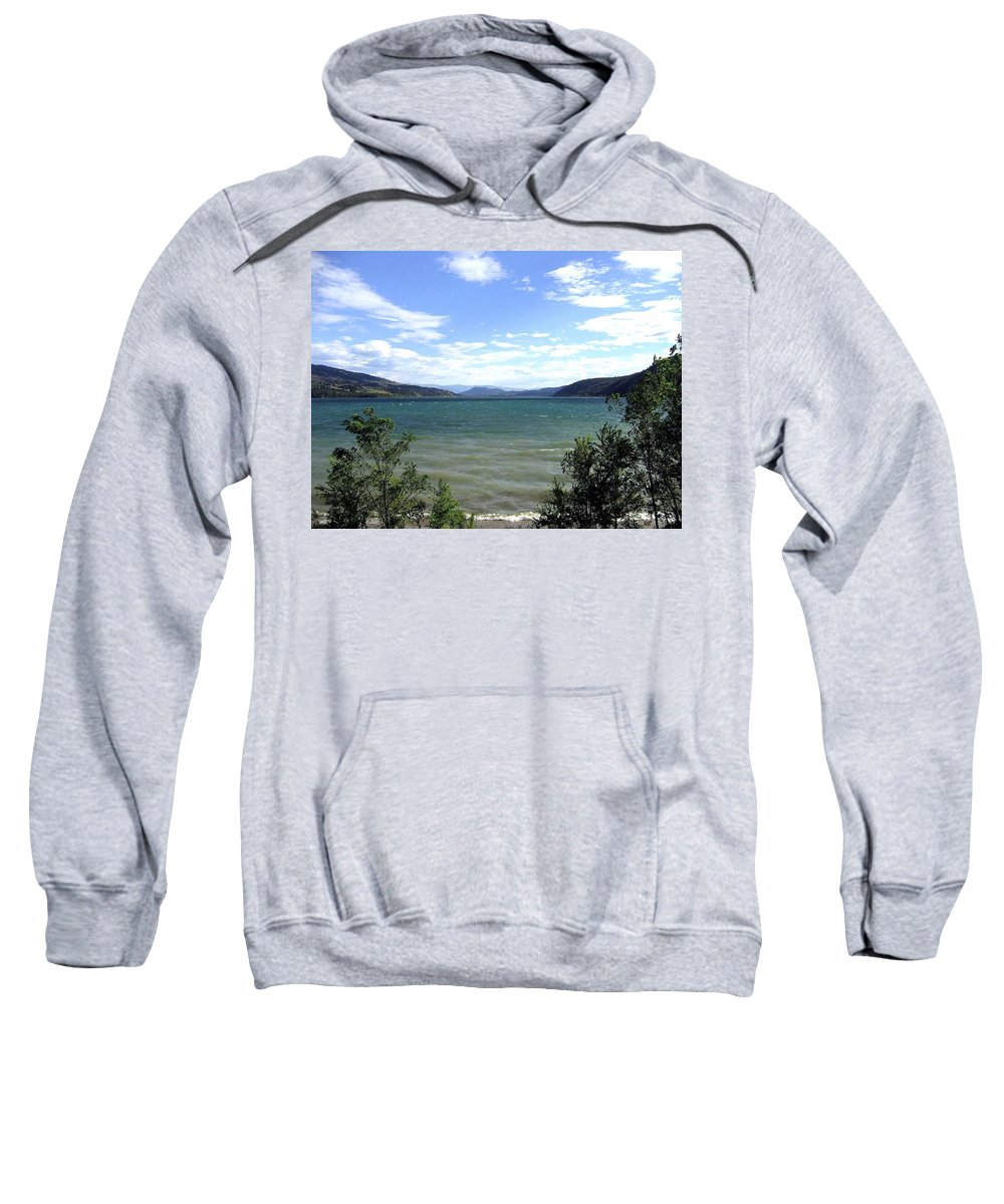 Wood Lake Sweatshirt featuring the photograph Wood Lake In Summer by Will Borden