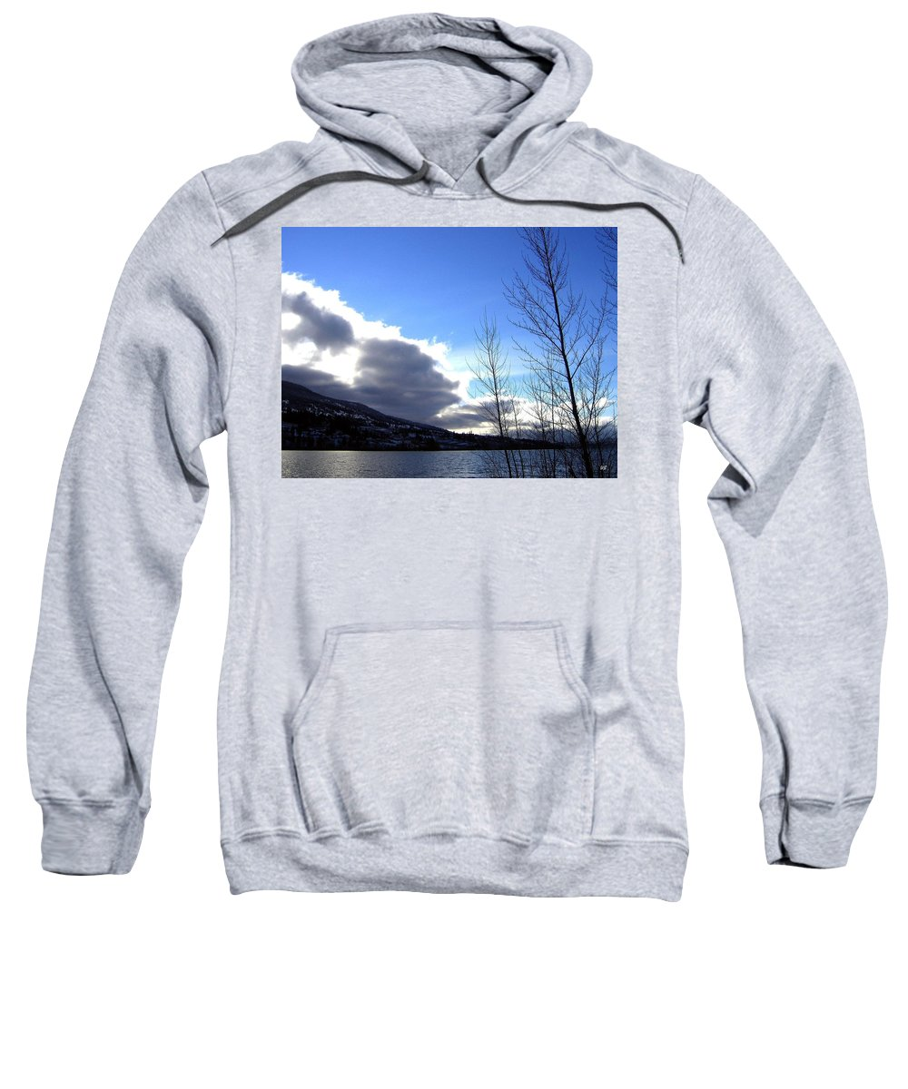Sunrise Sweatshirt featuring the photograph Wood Lake Sunrise by Will Borden