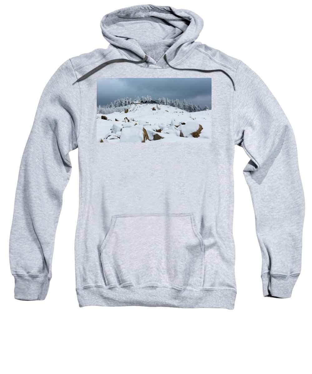 Outdoors Sweatshirt featuring the photograph Wurmberg, Harz Mountains by Andreas Levi