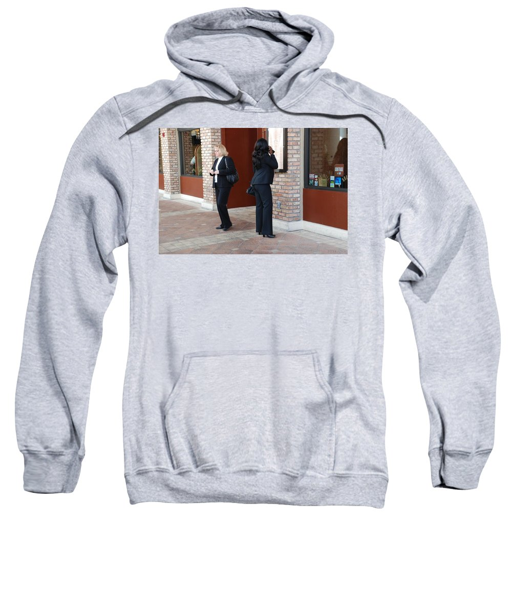 Girls Sweatshirt featuring the photograph Ying Yang by Rob Hans
