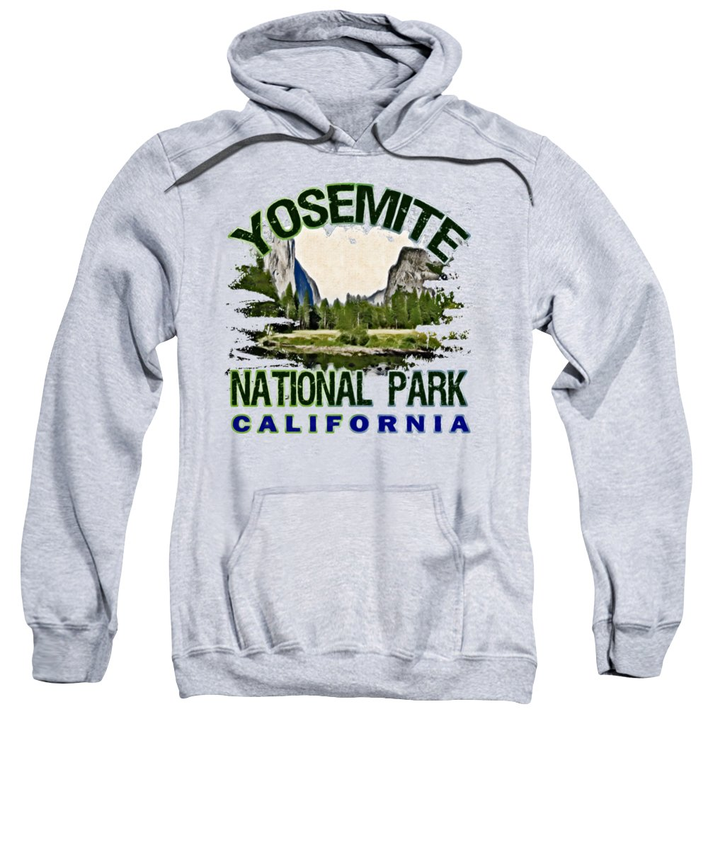 Yosemite National Park Hooded Sweatshirts T-Shirts