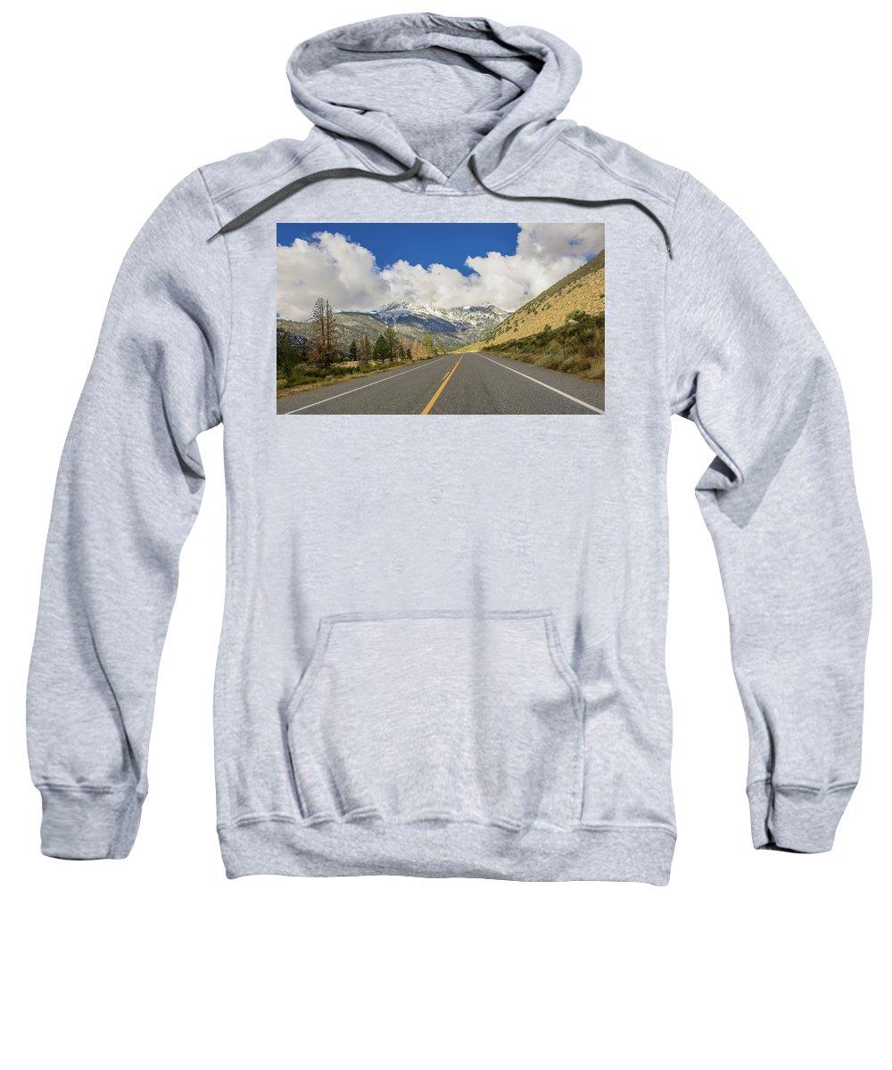 Landscape Sweatshirt featuring the photograph Yosemite Park by Bogdan Paius
