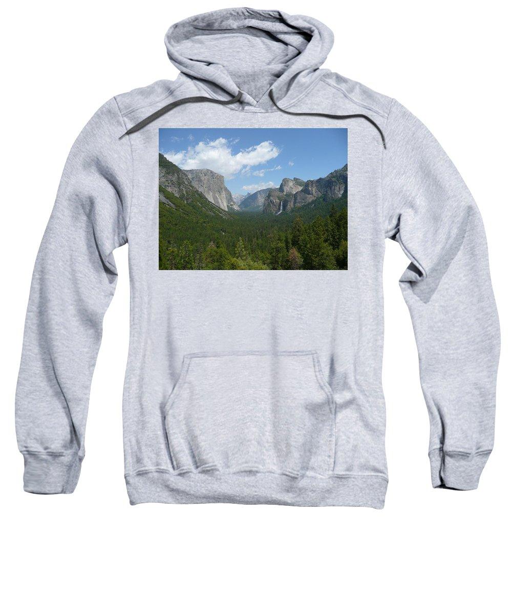Yosemite Sweatshirt featuring the photograph Yosemite's Inspiration Point by Emily Pass