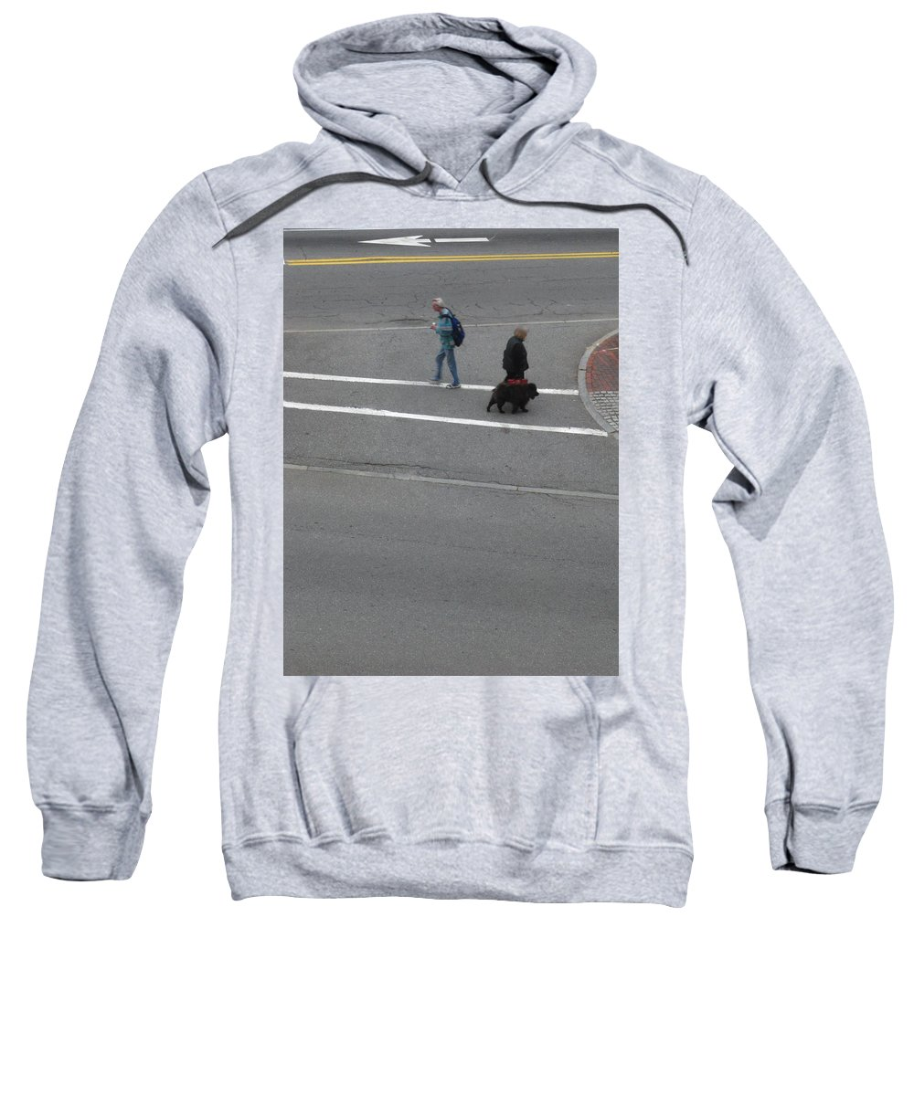 Vertical Sweatshirt featuring the photograph You Go Your Way by Bill Tomsa