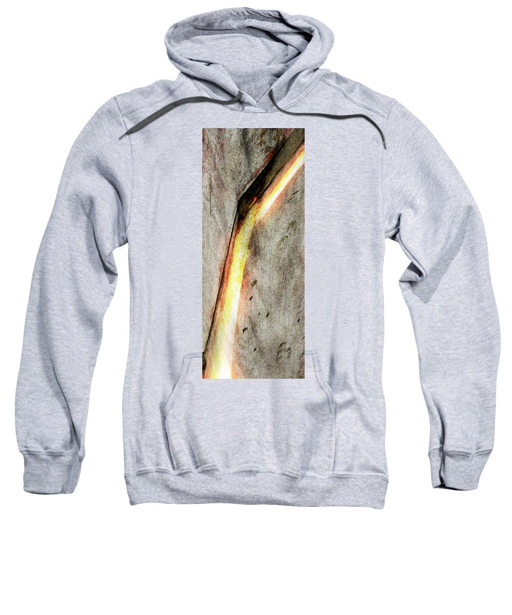 Zeus Sweatshirt featuring the digital art Zeus by Ken Walker