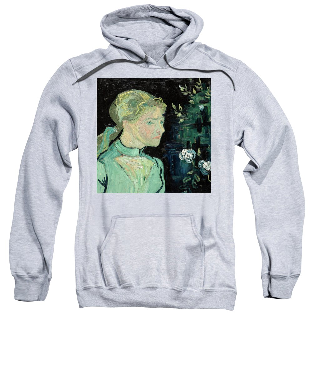 Vincent Van Gogh Sweatshirt featuring the painting Adeline Ravoux, 1890 by Vincent van Gogh