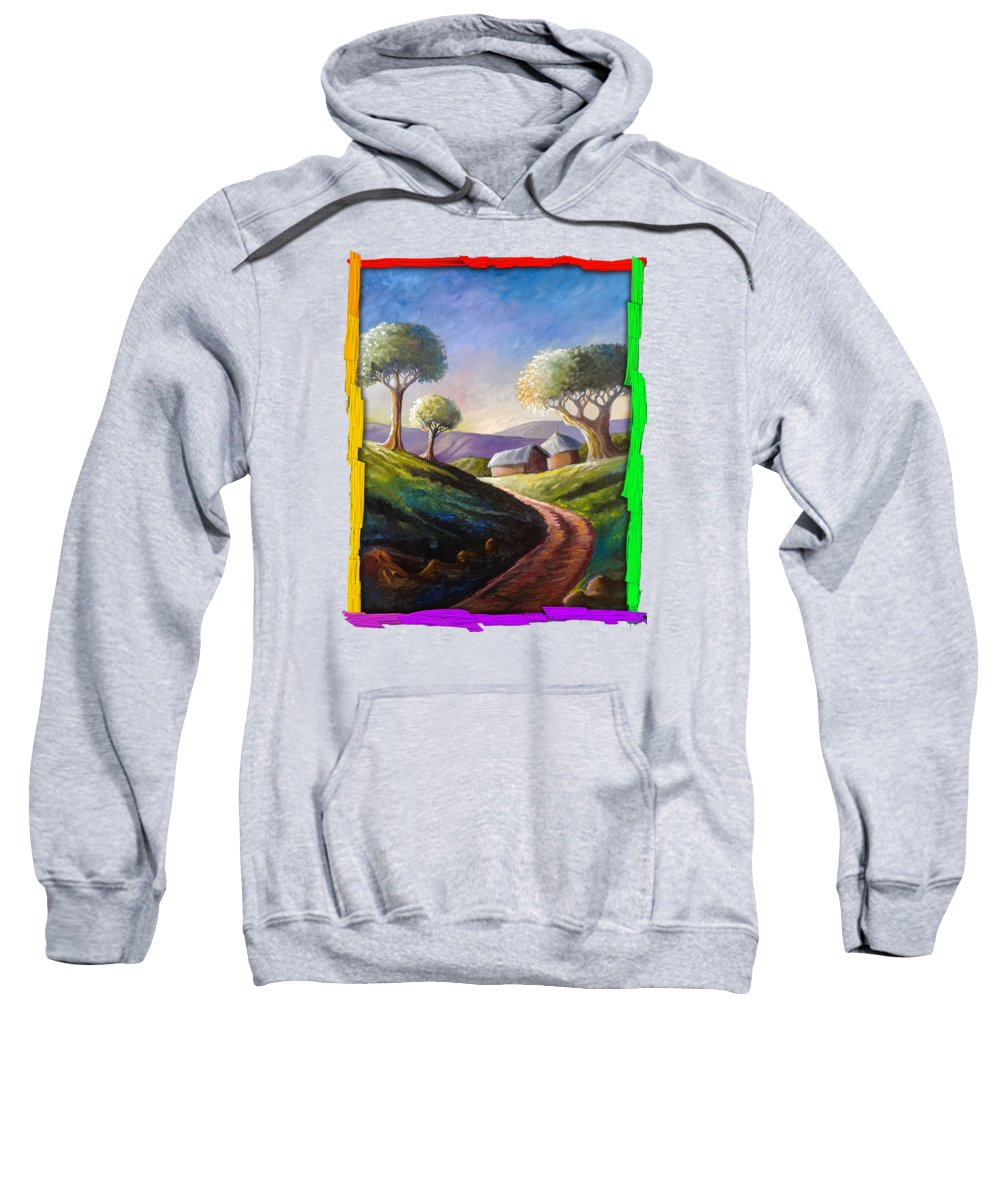 Thatched Roof Hooded Sweatshirts T-Shirts