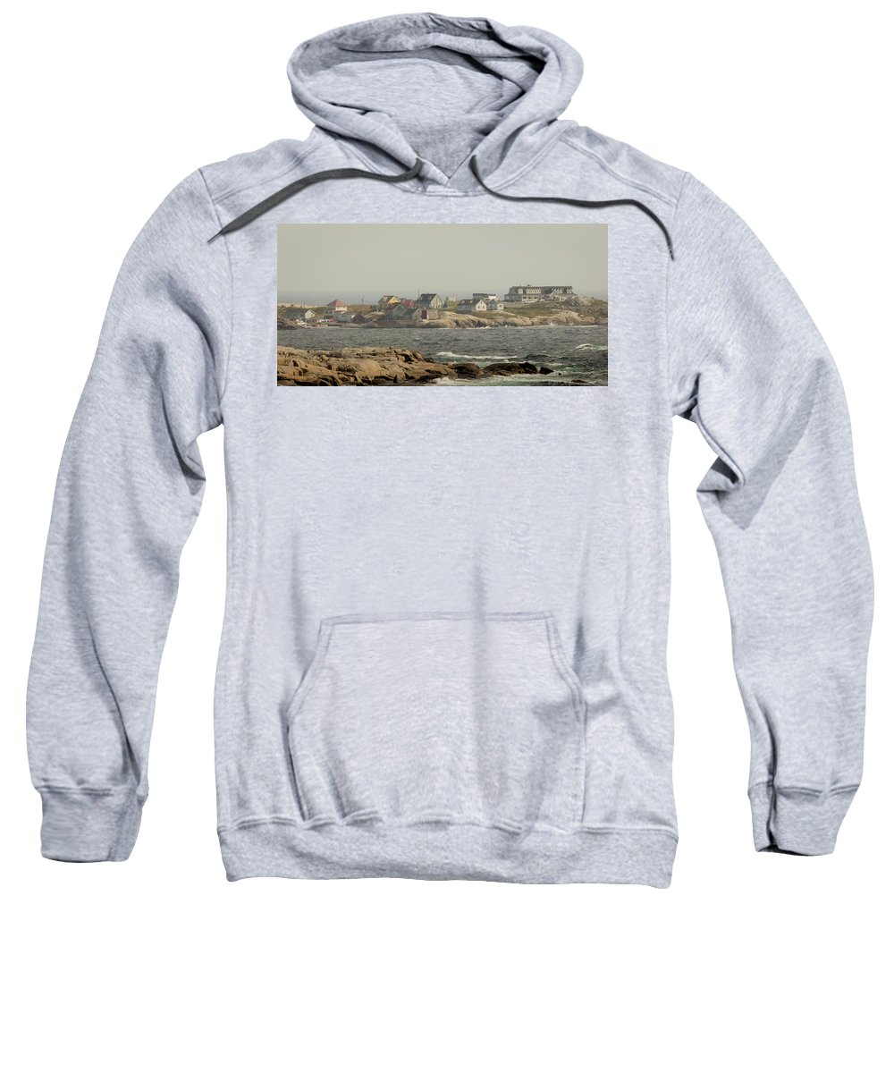 Nova Scotia Sweatshirt featuring the photograph Across The Bay by Everet Regal