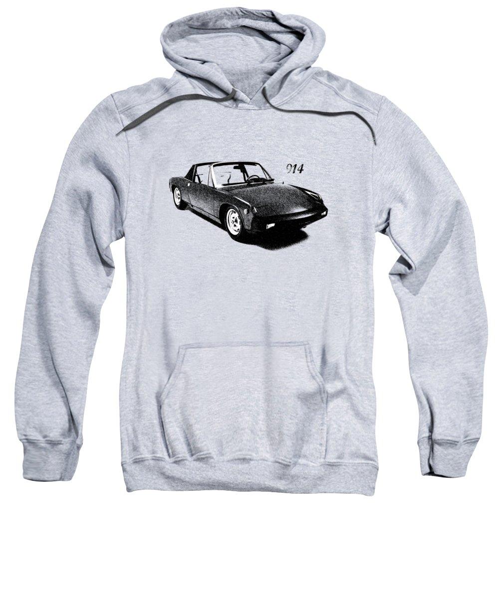 Porsche Sweatshirt featuring the photograph 914 by Mark Rogan