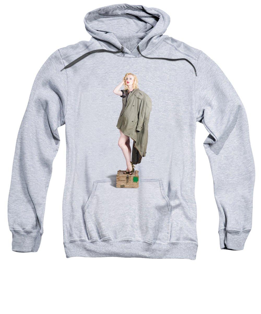 Beautiful Woman Sweatshirts
