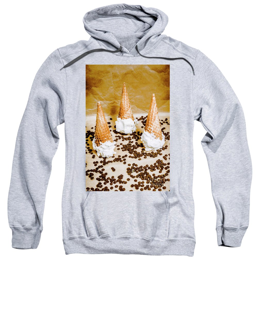 Parlor Sweatshirt featuring the photograph Downfall by Jorgo Photography - Wall Art Gallery